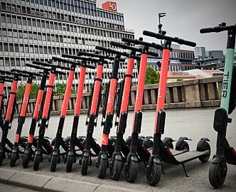 Trondheim valgte tre sparkesykkelaktører