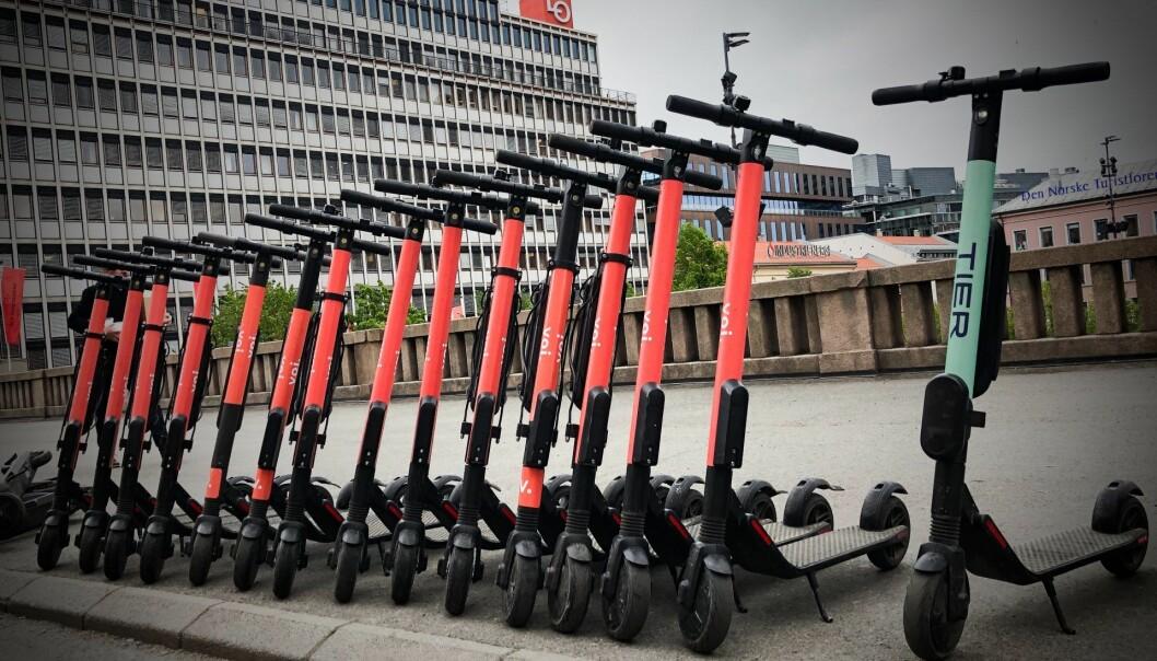 Voi er et av selskapene som har vært i kontakt med Stavanger Kommune. Nå åpner kommunen for at de kan få lansere. Foto: Per-Ivar Nikolaisen