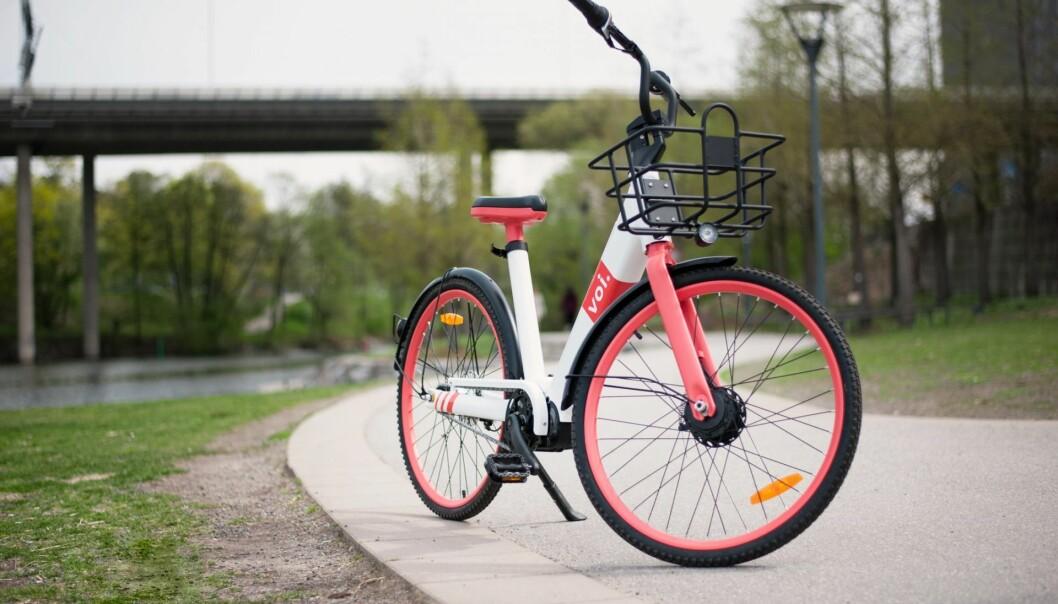 VOI Bike. Illustrasjonsfoto: Voi