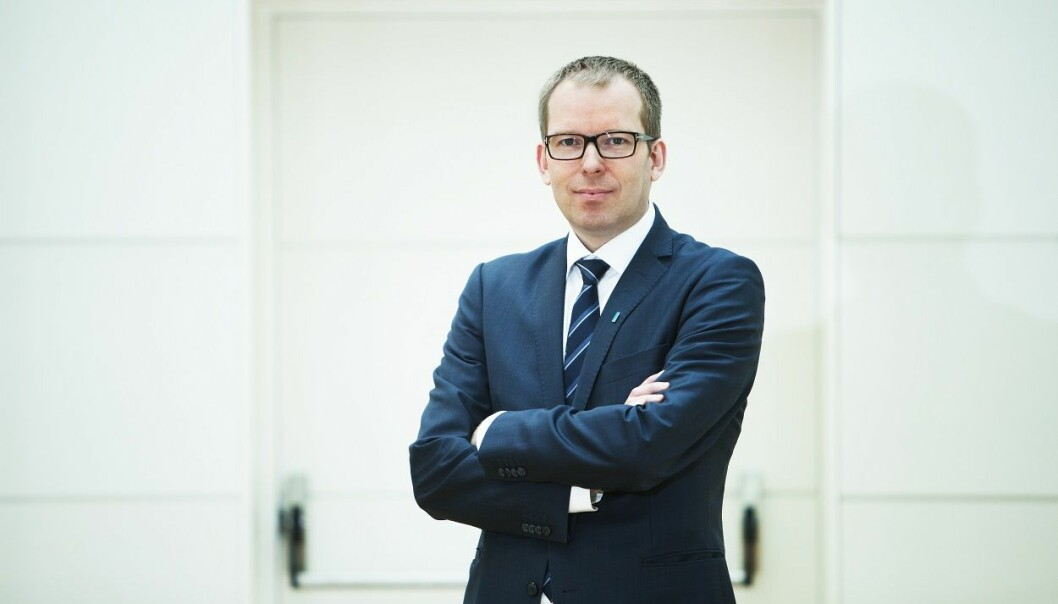 Administrerende direktør i Innovasjon Norge, Håkon Haugli. Foto: Heidi Widerøe / Presse