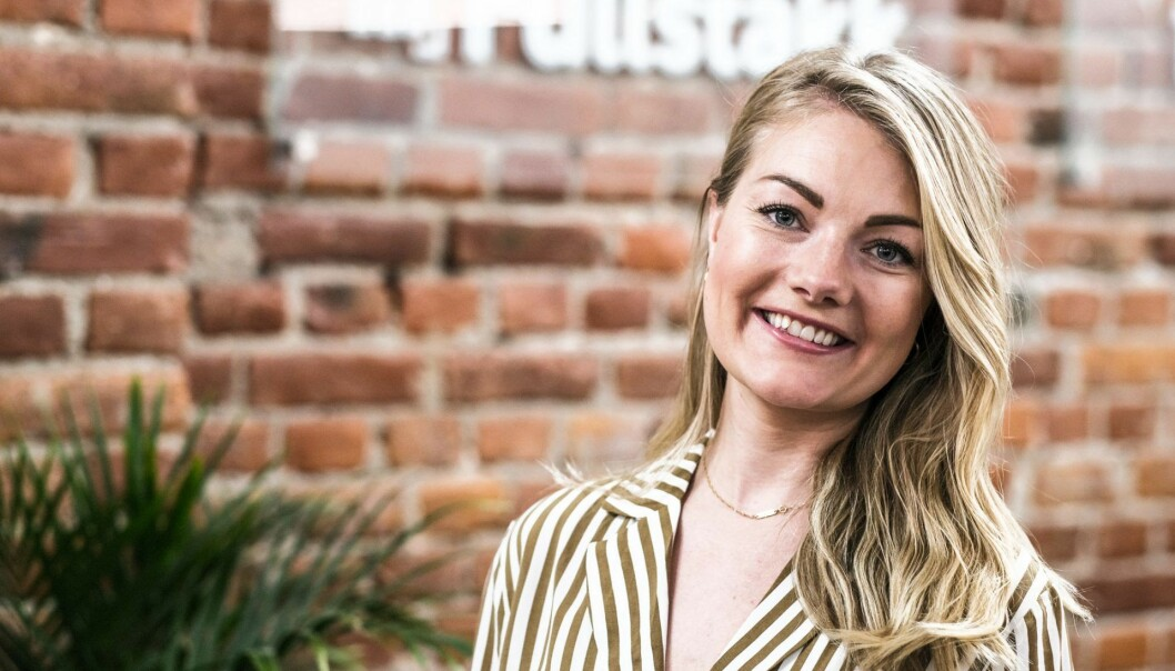 "Anett Nylander er ny ""Head of Growth"" i Fullstakk Marketing. Foto: Ben Böhmer"