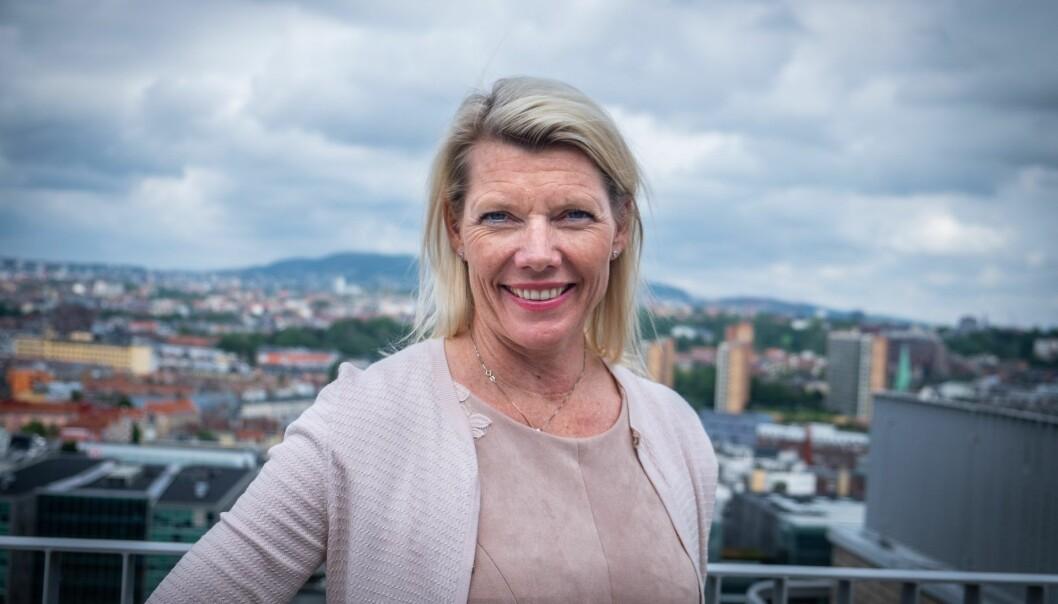 Kjerstin Braathen blir Rune Bjerkes arvtaker i september. Foto: Vilde Mebust Erichsen