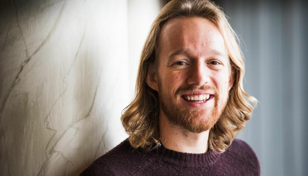 Marius Jones er i gang med en doktorgrad om samarbeid i startups.