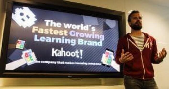 Pitch: Johan Brands Kahoot er et av forbildene i den norske startupbransjen.