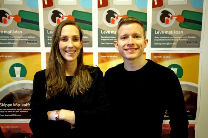 Elin Helander og Øystein W. Høie i Dreams Norge. Foto: Press