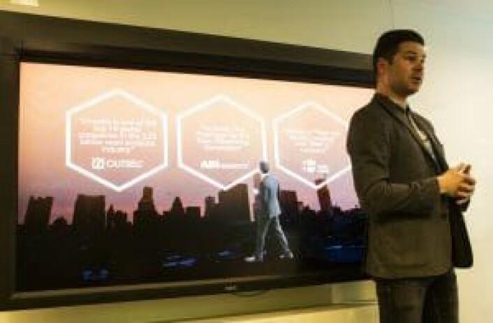 Pitch: Mens Google og Facebook indekserte den virtuelle verden, indekserer Kjartan Slette og Unacast den virkelige verden for å målrette markedsføring.