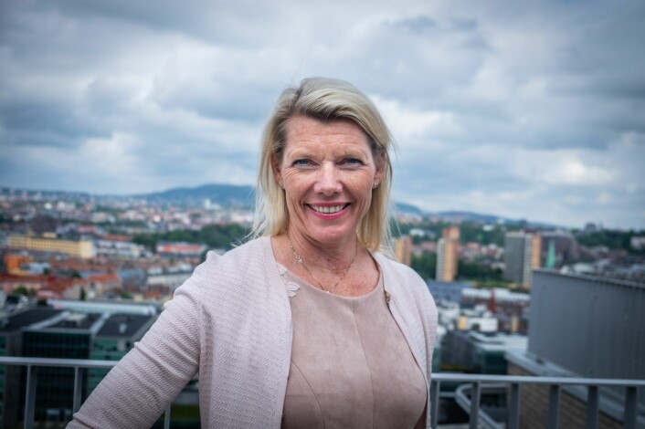 Kjerstin Braathen will inherit Rune Bjerkes position as CEO of DNB from September. Photo: Vilde Mebust Erichsen