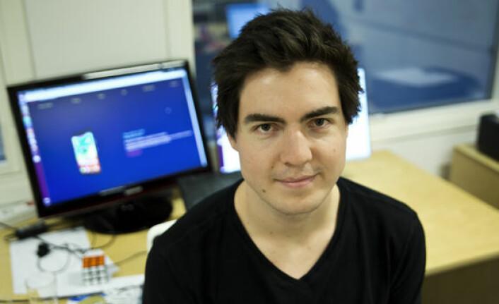 Fredrik Anfinsen drev selskapet Sharemy3D, da han ble plukket opp av John Markus Lervik. Foto: Per-Ivar Nikolaisen