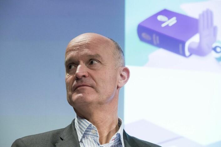 Finans Norge-direktør Jan Digranes håper den norske utgaven av en regulatorisk sandkasse for fintech legger seg tett opp mot den britiske. Foto: Terje Pedersen / NTB scanpix