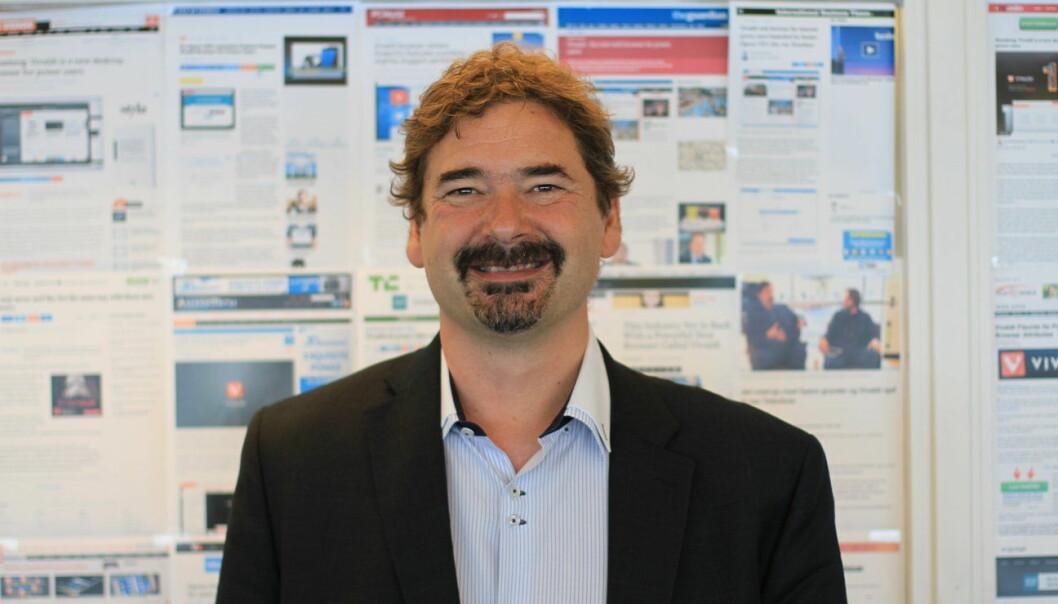 OPERA- OG VIVALDI-GRÜNDER: Jon Von Tetszchner  er skuffet over at vi ikke har kommet lenger teknologisk.