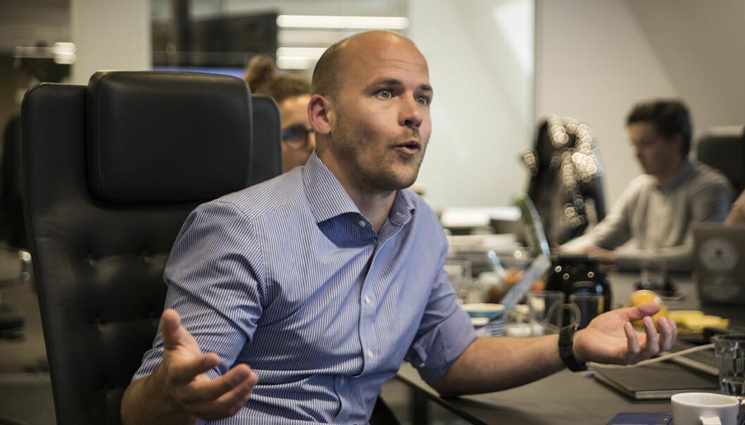 Haakon Brunell er managing partner i Katapult Accelerator. Foto: Per-Ivar Nikolaisen