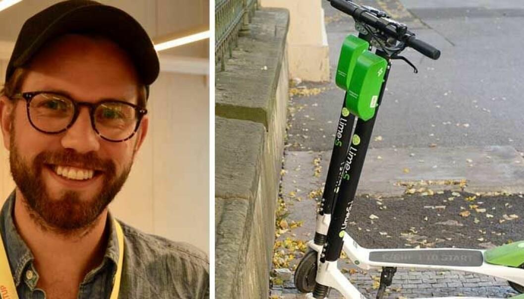 Henrik Hatlebrekke i Mobility Lab hos StartupLab er positiv til at Lime nå har kommet til Oslo