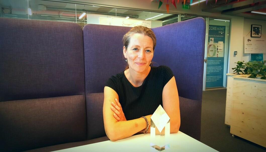Norway Health Tech-sjef Kathrine Myhre. Foto: Torill Henriksen