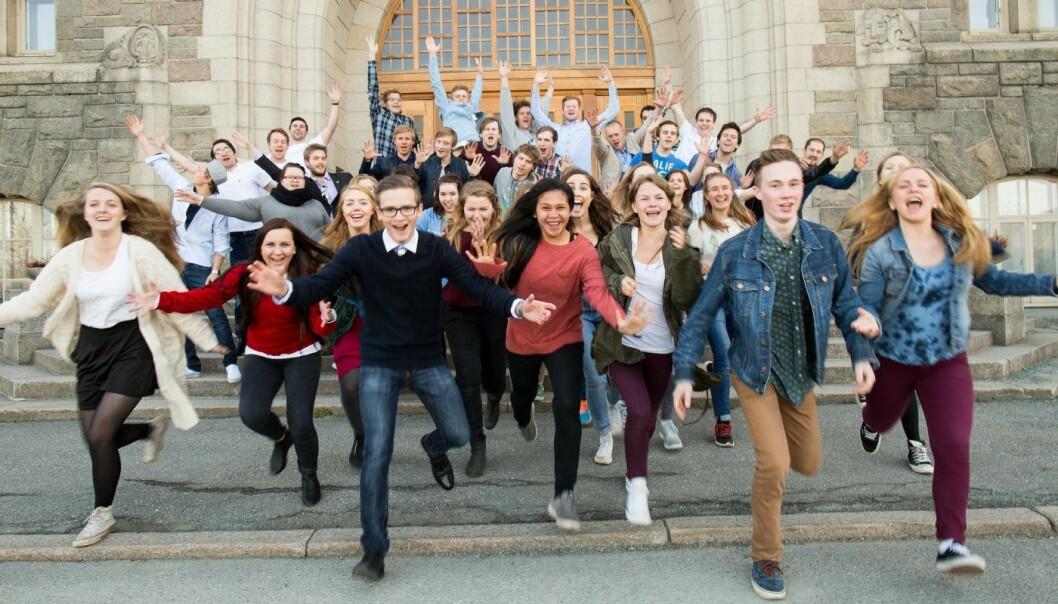 Studenter fra NTNU har de siste årene dominert søknadsbunkene. Det gjør de i år også. Arkivfoto: Kai T. Dragland, NTNU