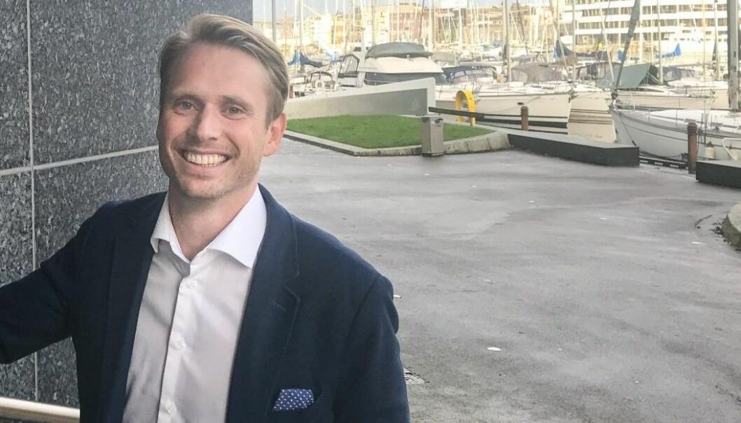 Petter Skulstad, gründer og daglig leder i Dealflow.