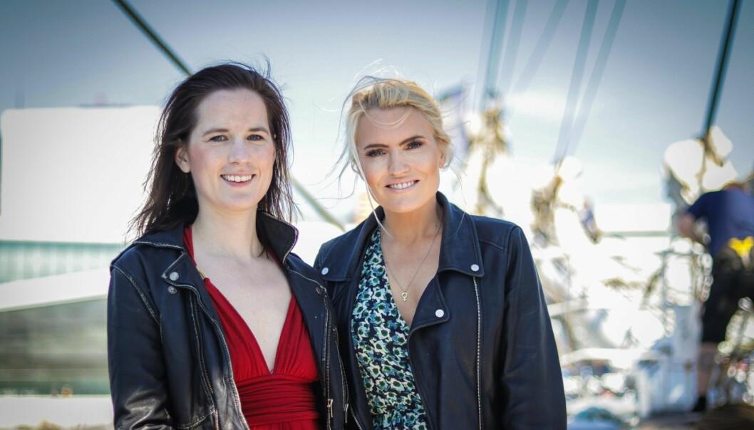 Marie Sunde og Isabelle Ringnes lansert plattformen Equality Check i sommer. Nå får de støtte av Unconventional Venture (UV)