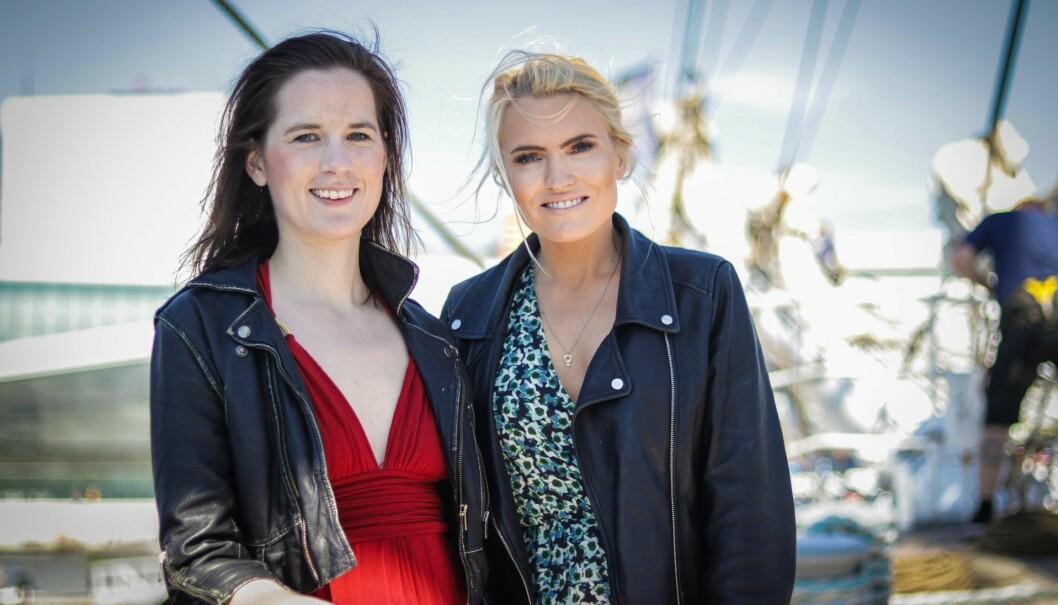 Marie Sunde og Isabelle Ringnes lanserte plattformen Equality Check i sommer.
