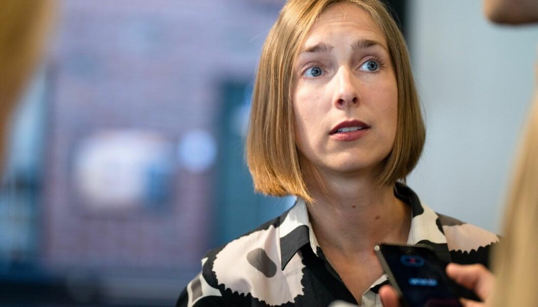 Forsknings- og høyere utdanningsminister Iselin Nybø har øremerket nesten 5 milliarder kroner av regjeringens krisemidler gründer- og vekstselskaper.