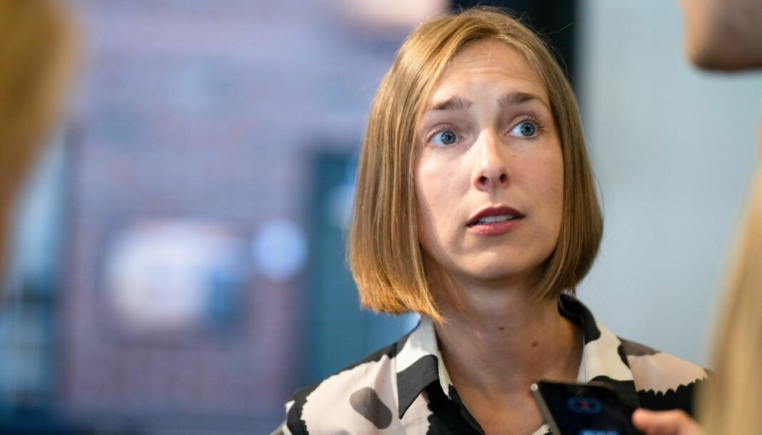 Næringsminister Iselin Nybø (V).