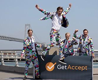 Et halvt år inn i det norske markedet, sikter GetAccept mot millionomsetning