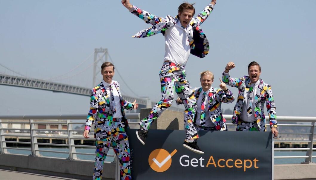GetAccept åpnet norgeskontor i februar 2019. Foto: Press