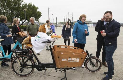 Millioner til el-lastesykler: Skal ersatte bil og drosje i sentrum