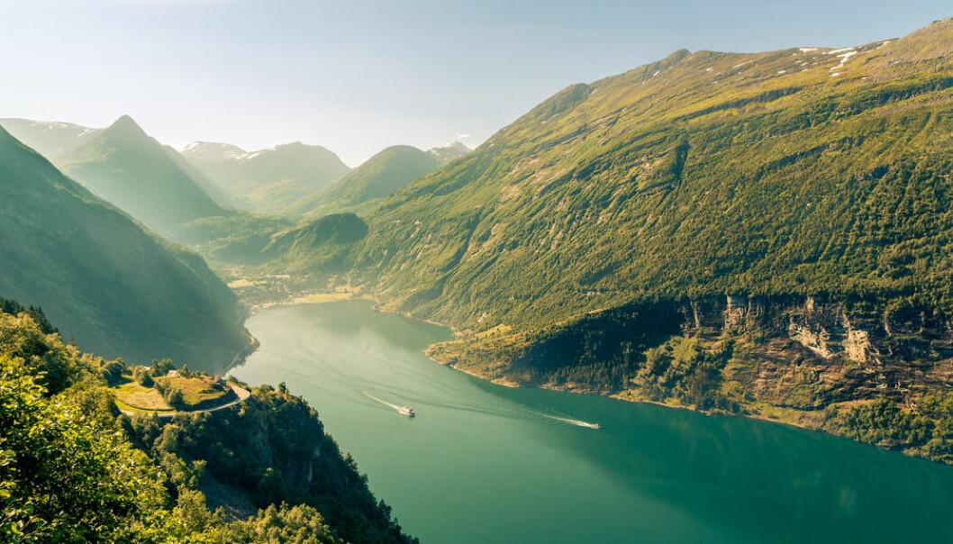 Norge, representert ved Geirangerfjorden. Foto: Tristan Taussac/Flickr