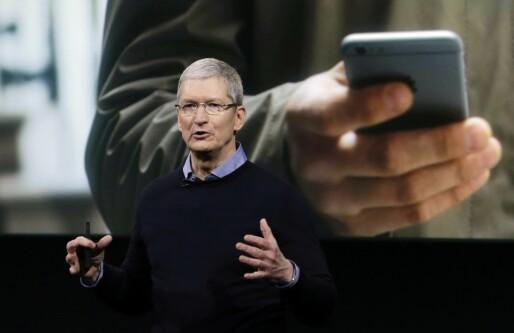 Apple rapporterte om beste kvartal noensinne