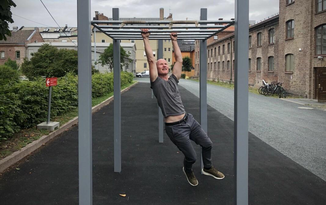 Per-Otto Wold og Spond har flyttet fra StartupLab til Myntgata.