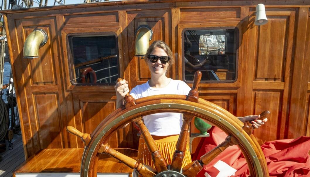Maren Hjort Bauer i Katapult Ocean mener nordmenn har et helt eget forhold til havet. Foto: Torill Henriksen