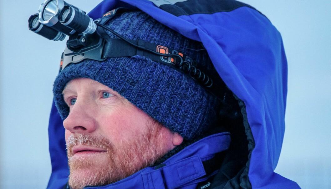 Hidden-gründer Pål Rørby på Svalbard. Foto: Hidden