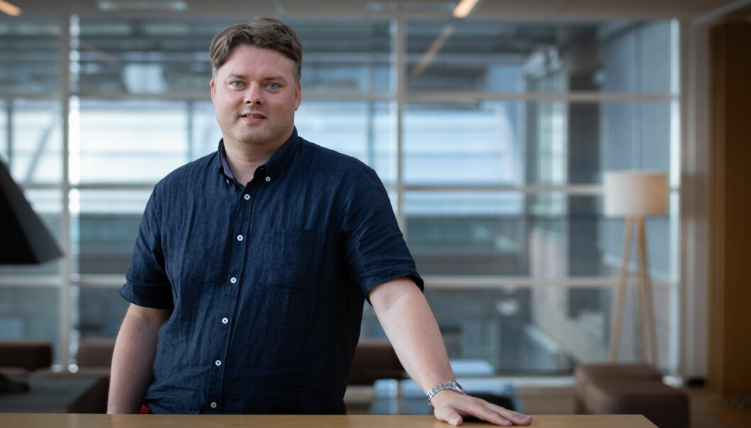 Morten Jacobsen gir seg i Schibsted.