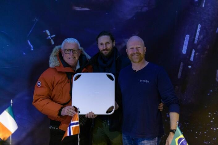 Ian Brodie, Øyvind Steensen og Pål Rørby. Foto: Hidden