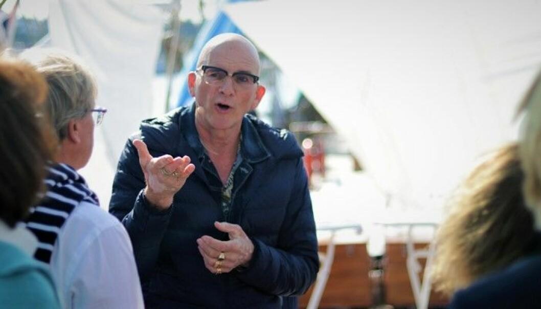 Forfatter og økonom Kjell Nordström mener nordiske gründere må bli flinkere til å spørre bestemor om å investerer. Foto: Torill Henriksen