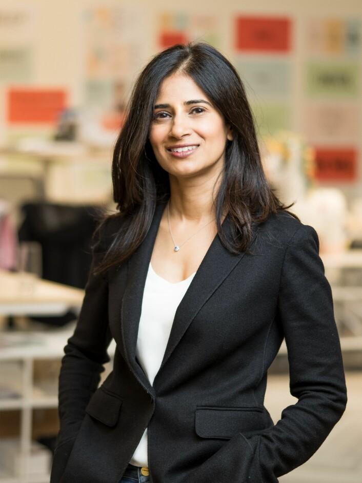 CEO Varsha Rao har tatt over sjefstolen etter Hans Gangeskar i Nurx. Foto: Presse