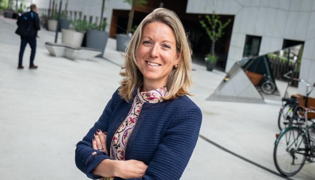 Karen Elisabeth Ohm Heskja er investeringssjef i DNB Ventures. Foto: Vilde Mebust Erichsen