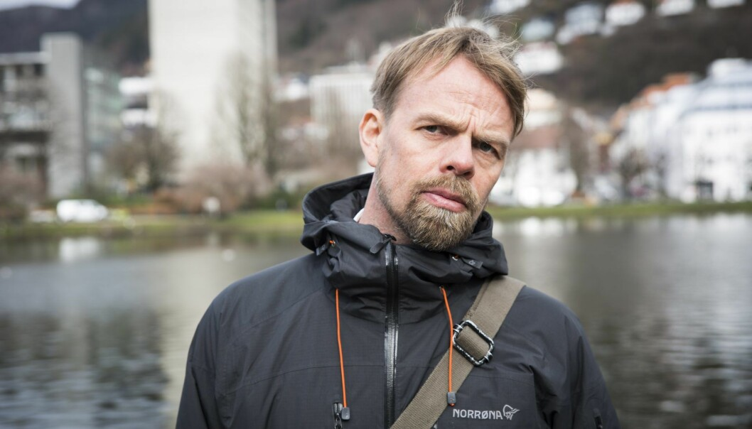 Anders Waage Nilsen vil gjøre gull av data om avfall. Foto: Per-Ivar Nikolaisen