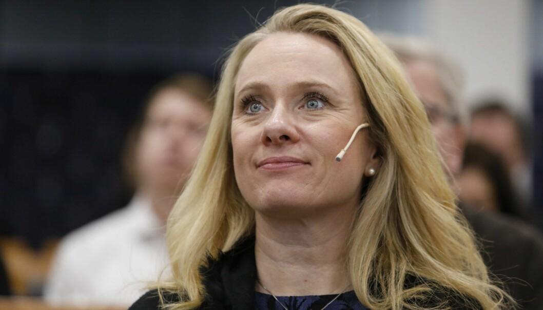 Arbeidsminister Anniken Hauglie (H). Foto: Ole Berg-Rusten / NTB scanpix