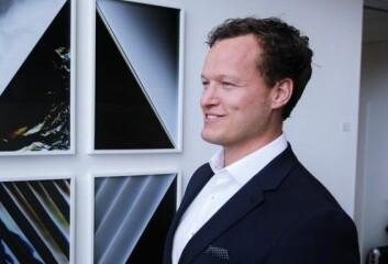 Remi Dramstad er partner i Selmer og jobber mye med startups. Foto: Lucas H. Weldeghebriel
