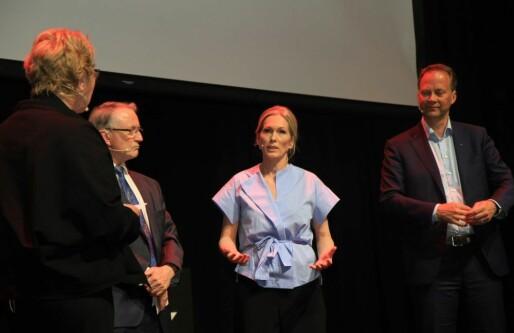 Anita Krohn Traaseth til norske gründere etter Innovasjonstalen: Fortsett som dere gjør nå!