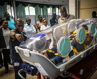 Nå har den norske ebola-båren landet i Afrika: Kan få ilddåp i en omfattende epidemi