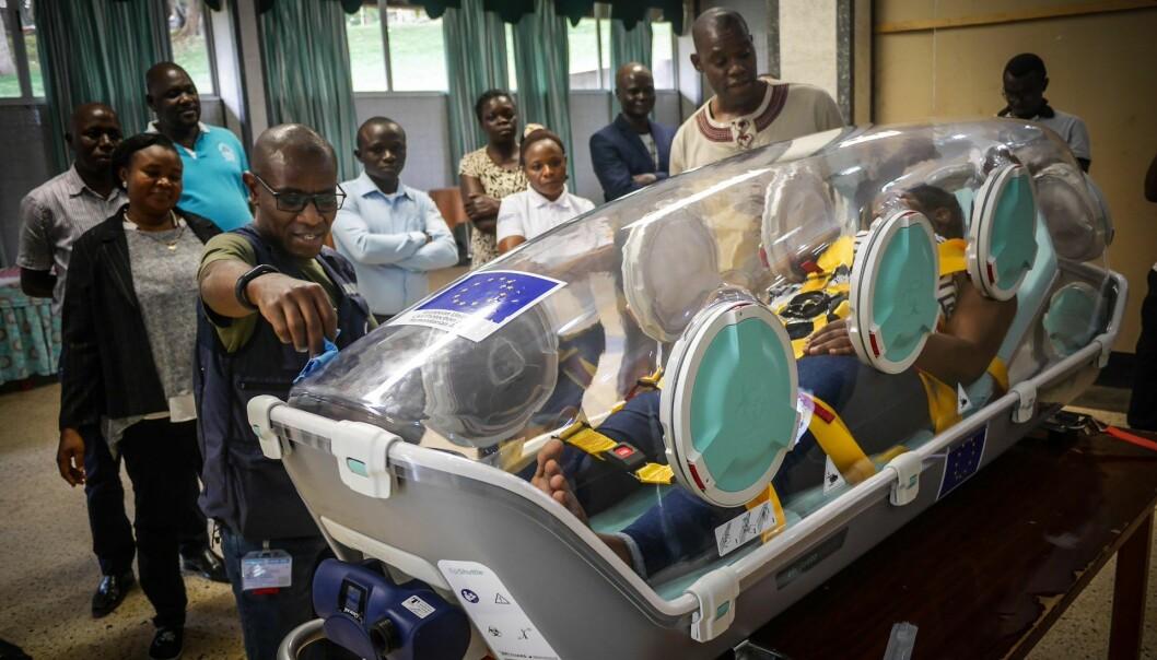 I slutten av juli reiste et team fra Norge til Den demokratiske republikken Kongo med den norske oppfinnelsen Epishuttle som et ledd i innsatsen Verdens Helseorganisasjon for tiden leder mot ebola i det sentralafrikanske landet.
