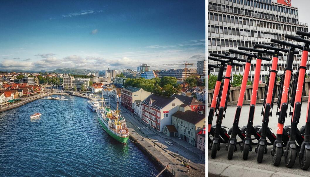 Stavanger kommune åpner for el-sparkesykler.