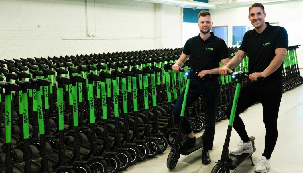 Ryde-gründerne får fortsette sin operasjon i Stavanger i 2020, sammen med Zvipp.