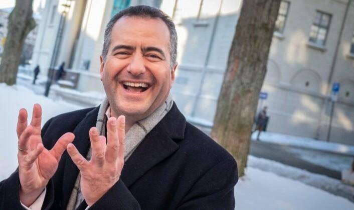 CEO André Løvestam i Zwipe. Foto: Vilde Mebust Erichsen