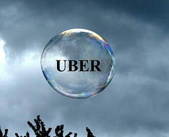 Er delingsøkonomien en boble når arabiske prinser  går inn med 30 milliarder i et taxiselskap?