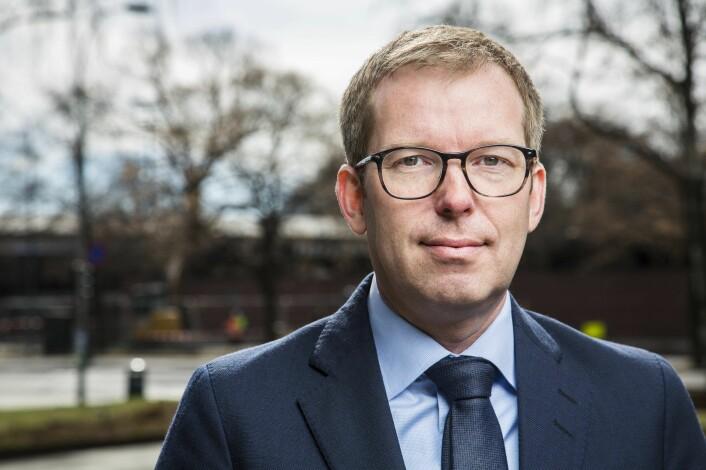 Håkon Haugli, administrerende direktør i Innovasjon Norge. Foto: Esben Johansen.