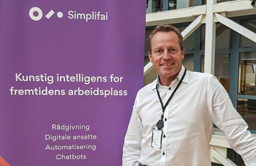 Morten O. Skaar er ny salgssjef i Simplifai