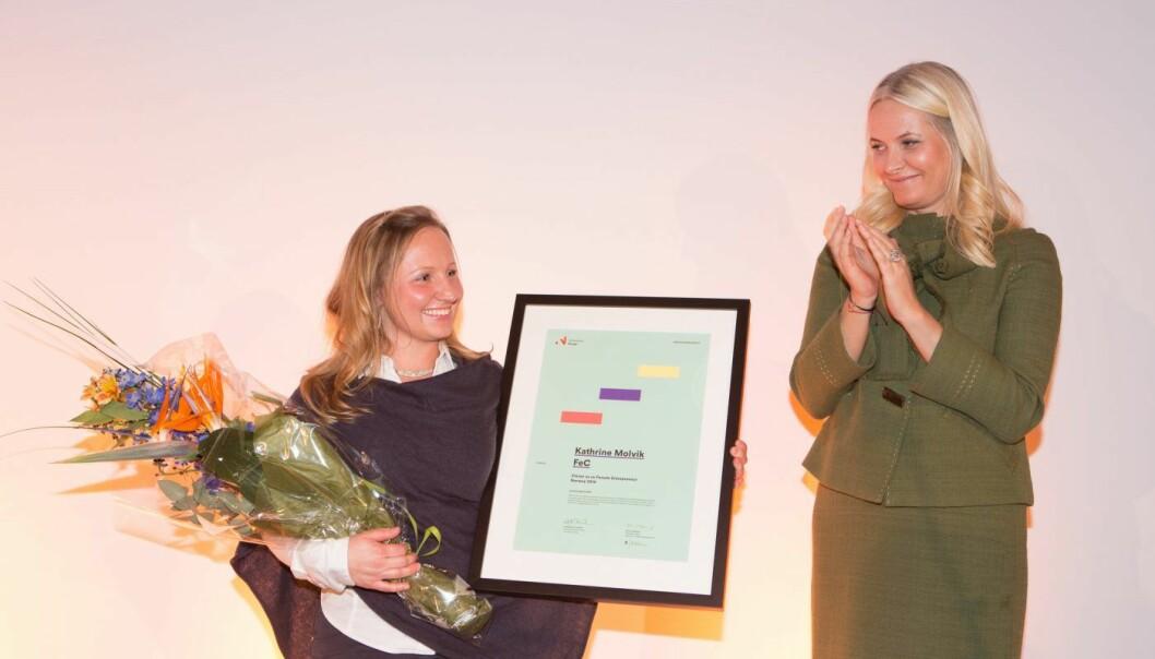 """Kathrine Molvik, """"Female entrepreneur"""""""