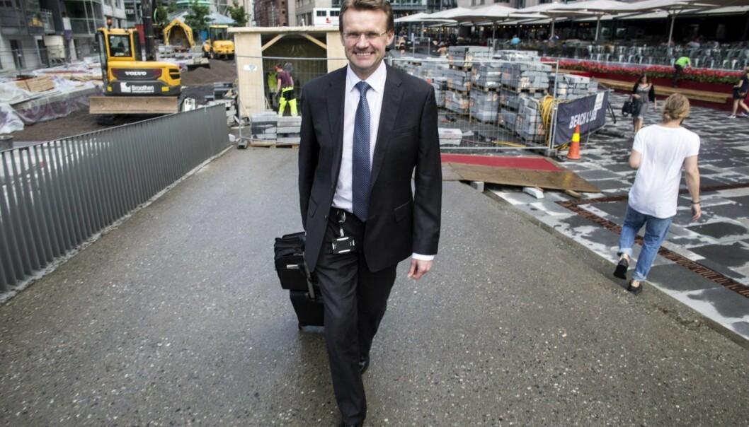 Bent R. Eideim, bedriftsmarkedssjef i Danske Bank.